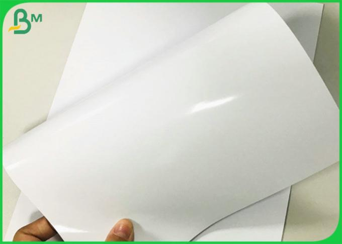 FSC 230/250gsm Single Side High Glossy Cast Coated Paper Mirror Surface Sheet